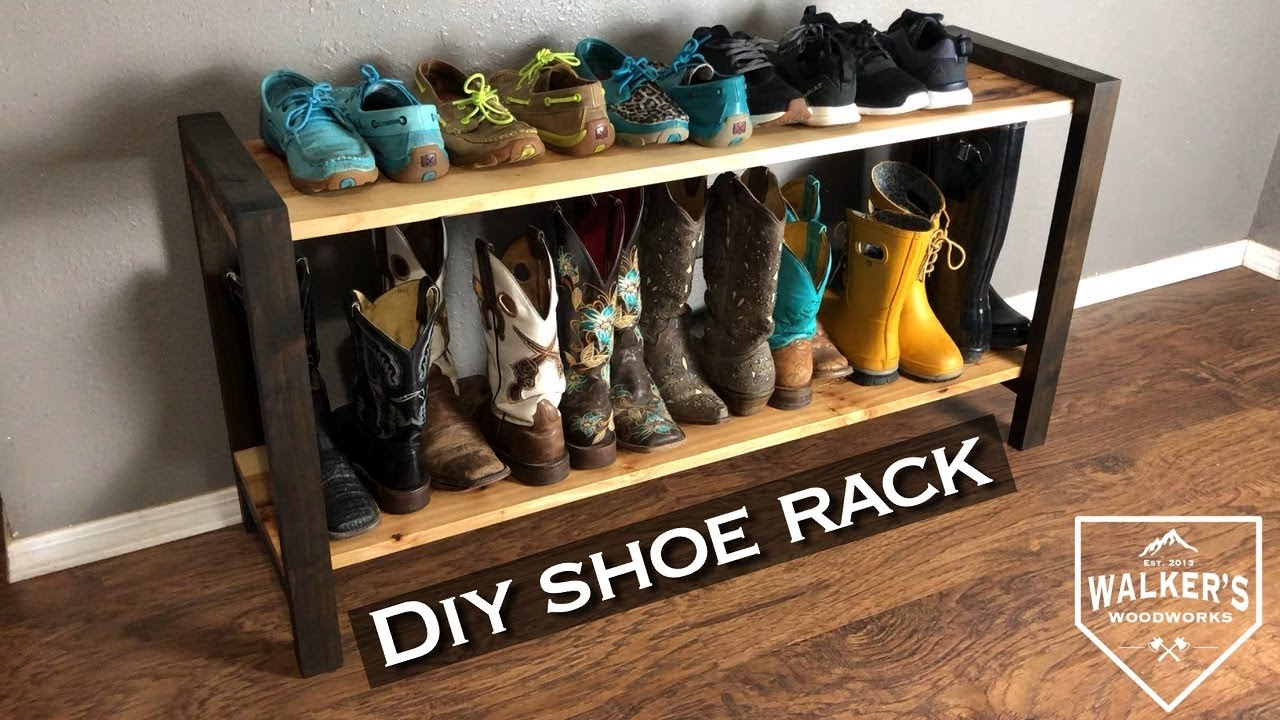 Diy Simple Modern Shoe Rack