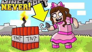 Minecraft: *NEVER* BLOW UP TNT! - WORLD OF EXPLOSIONS - Custom Map