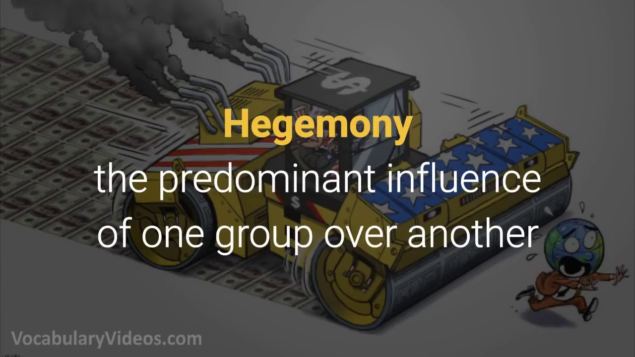 Learn English Words Hegemony Meaning Vocabulary With