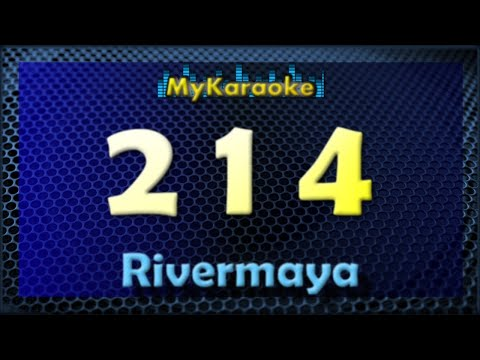 214 - Karaoke version in  the style of Rivermaya
