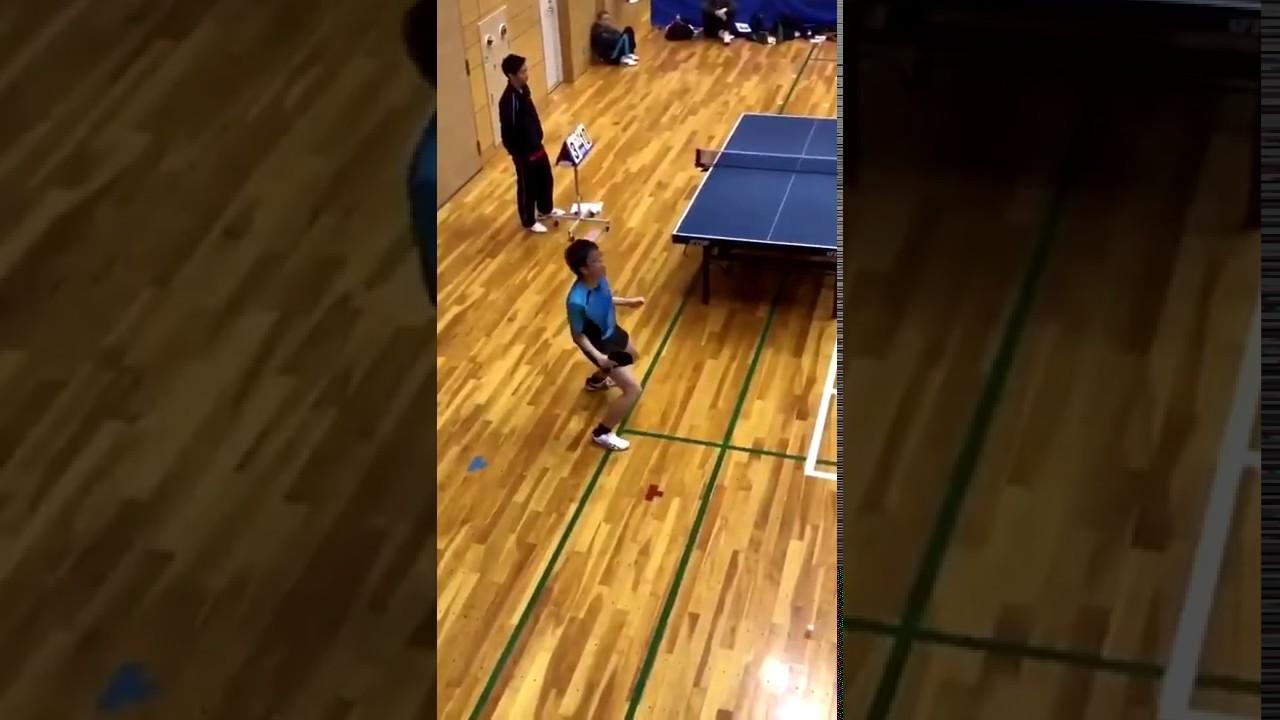 【卓球】絶対に対戦したくない選手あらわる!と話題に