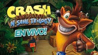 EL MARIO NARANJO: Noche de Crash Bandicoot! (N'Sane Trilogy)