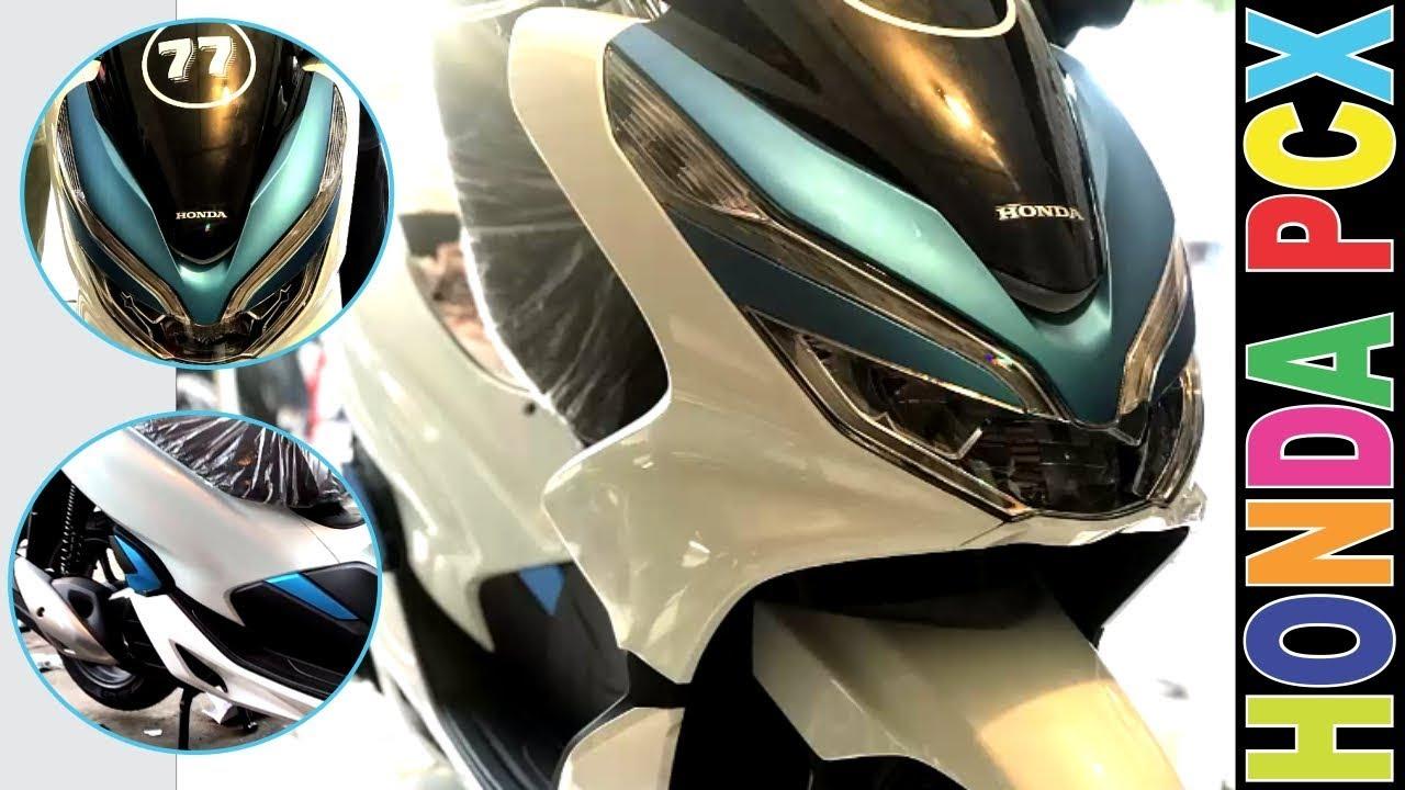Honda PCX 150 New 2018 - Sticker Wrapping KS Walkaround
