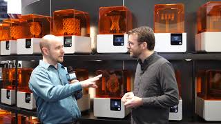 Formlabs - New 3D printable elastic resin, dentures and more - Interview - CES 2019 - Poc Network