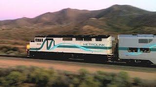 Metrolink 269 of 09/20/2015 being led by SCAX EMD F59PH 869 still using its K5LA