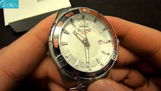 BULER Sport Stainless Steel Mens Watch SP01AB02 - E-oro.gr