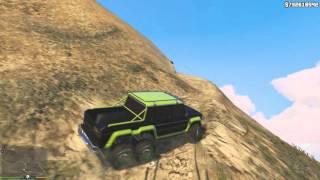 Гелик 6X6. Тест на бездорожье.  GTA5