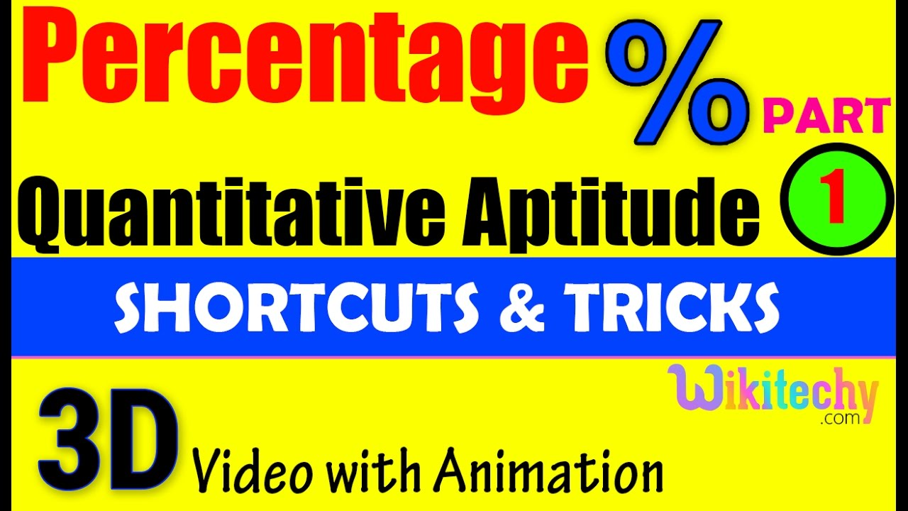 percentage 1 aptitude interview questions papers and answers percentage 1 aptitude interview questions papers and answers online videos lectures exams tips