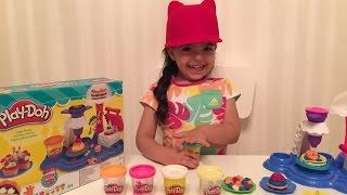 Пластилин для Детей Плей До - Изготовление Тортов / Play Doh Cake Party(Николь, используя пластилин для детей Плей До (Play Doh) делает торты Вы смотрите видео: Пластилин для Детей..., 2016-09-13T17:26:04.000Z)
