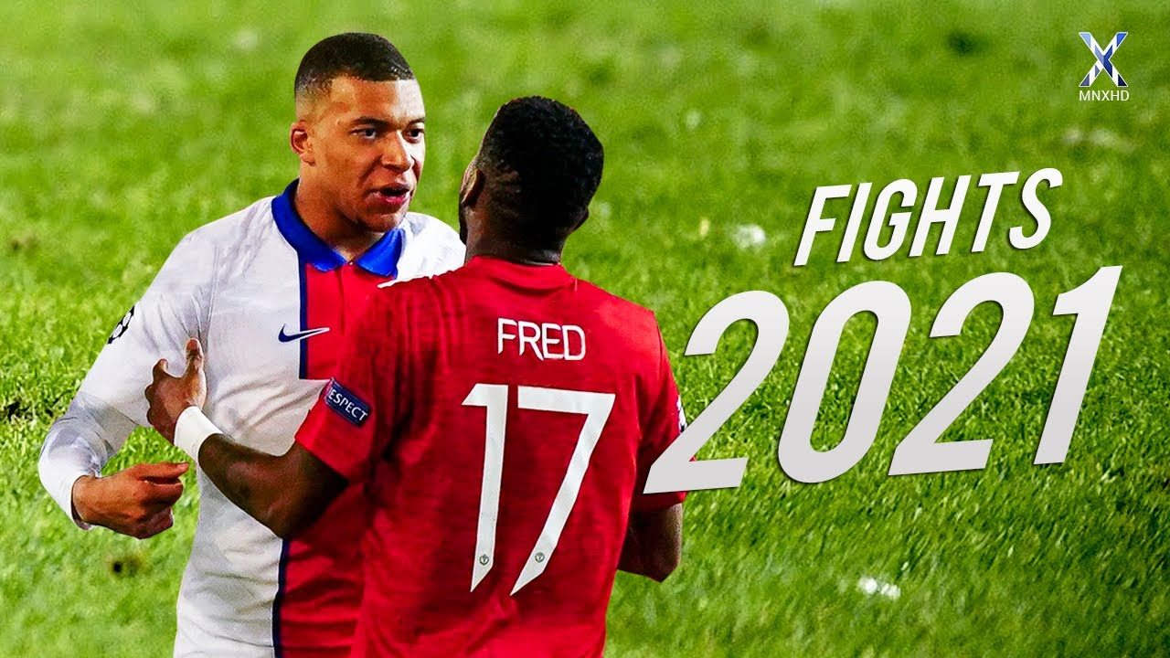 Football Fights & Furious Moments 2021
