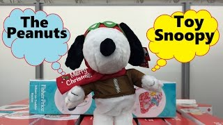 peanuts snoopy charlie brown movie happy dance song walmart plush toys christmas - Snoopy Christmas Song