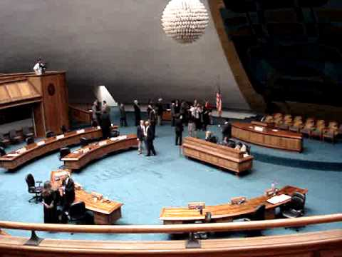 Special Session Held at Hawaii Senate on Sept. 1, 2011