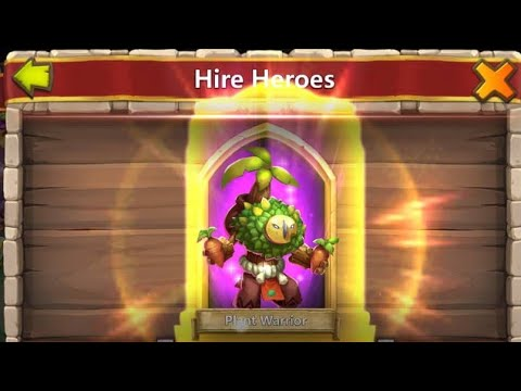 BEST TRICK ROLLING RARE HEROES CASTLE CLASH NEW UPDATE #001