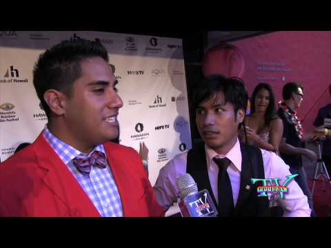 GJ and IZIK at the Honolulu Rainbow Film Festival