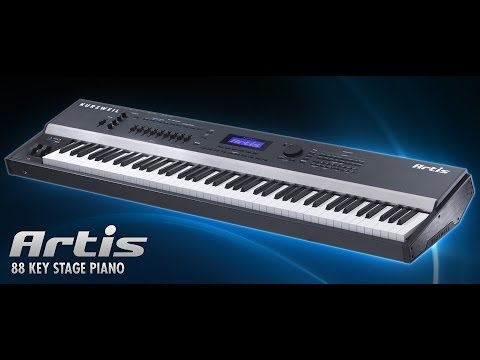 【REVIEW:CC】Compare of Kurzweil Artis VS Nord Stage 2  VS Yamaha S90ES  by Eric Nycolas