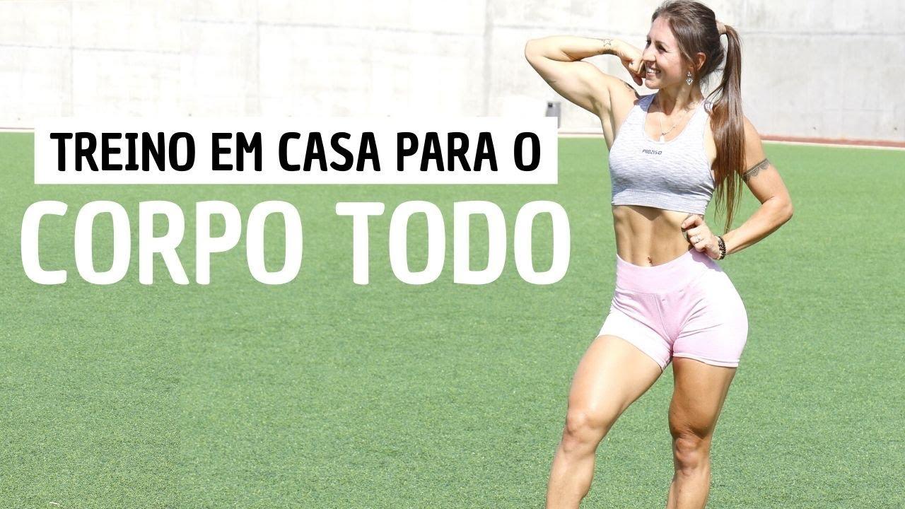 Download 25 MIN. Treino CORPO TODO  - Ganha Musculos e Queima Gordura em Casa