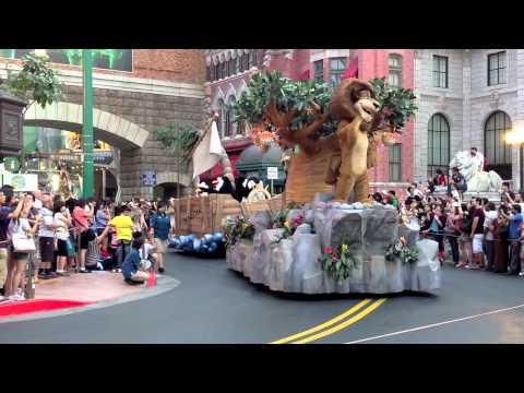 Hollywood Dreams Parade Universal Studios Singapore