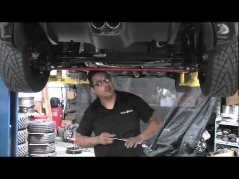 Fiat 500 Abarth Rear Anti Sway Bar Install M4v Youtube