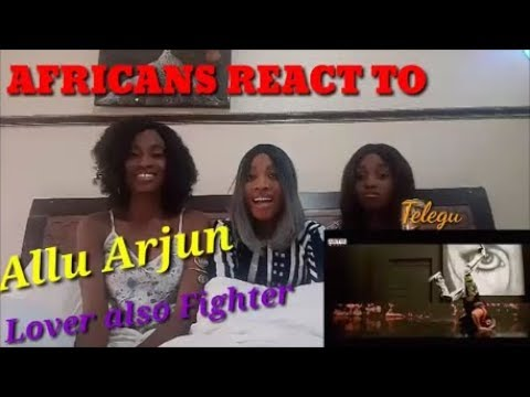 Lover Also Fighter Video | Naa Peru Surya Naa Illu India Songs | Allu Arjun reaction video by AGA