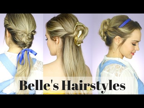 All the Beauty and the Beast Hairstyles! - KayleyMelissa Mp3