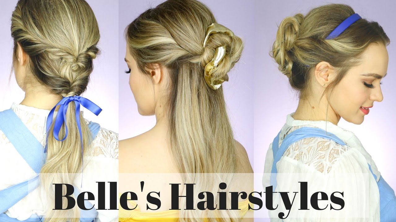 beauty hair style video all the and the beast hairstyles kayleymelissa 8124 | maxresdefault