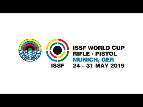ISSF WC Rifle/Pistol Final 10m Air Rifle Mixed Team, Munich, Germany 2019