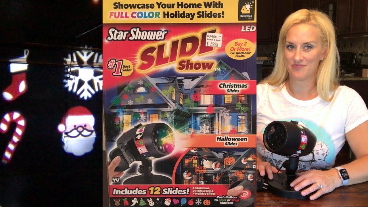 Star Shower Slideshow Review Youtube