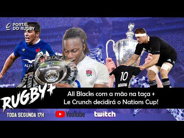Rugby+ fala dos All Blacks com a mão na taça e da final França contra Inglaterra!