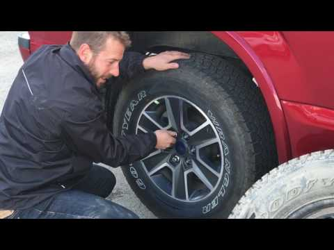 How To: Change a Tire on a Ford F-150 | Fernie, BC