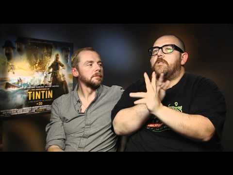 The Adventures of Tintin -- Simon Pegg And Nick Frost Interview | Empire Magazine