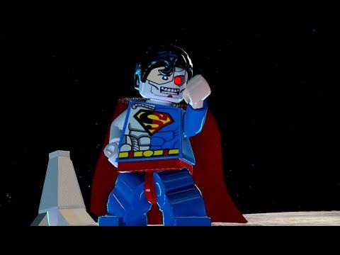 LEGO Batman 3: Beyond Gotham - Cyborg Superman Gameplay ...