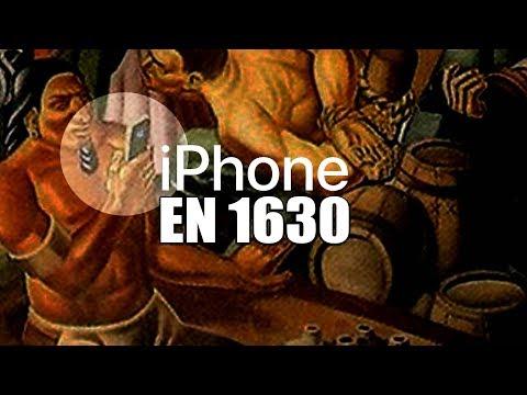 IPHONE EN UNA PINTURA DE 1937
