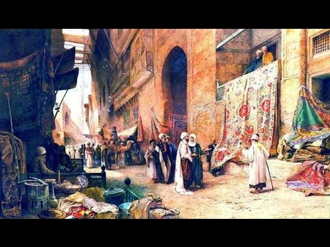 Muslim Civilization Paintings  الحضارة الاسلامية فى عيون الغرب