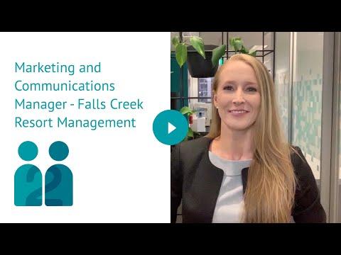 Marketing And Communications Manager - Falls Creek Resort Management