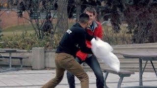 PILLOW FIGHT PRANK!