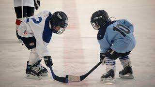 I - ll таймы - дружеская игра в хоккей (команда мальчиков 2012 года и команда мальчиков 2013 года)