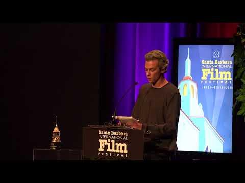 SBIFF 2018  Willem Dafoe & Josh Boone  Cinema Vanguard Award Presentation & Speech