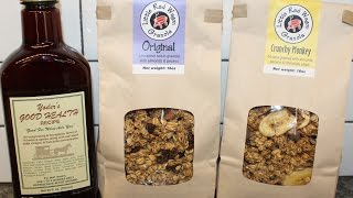 North Carolina Cuisine: Little Red Wagon Granola & Yoder's Good Health Recipe