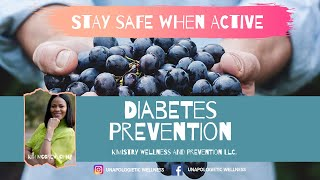 Diabetes Prevention - Stay Safe