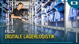 L-mobile warehouse im Einsatz bei falch