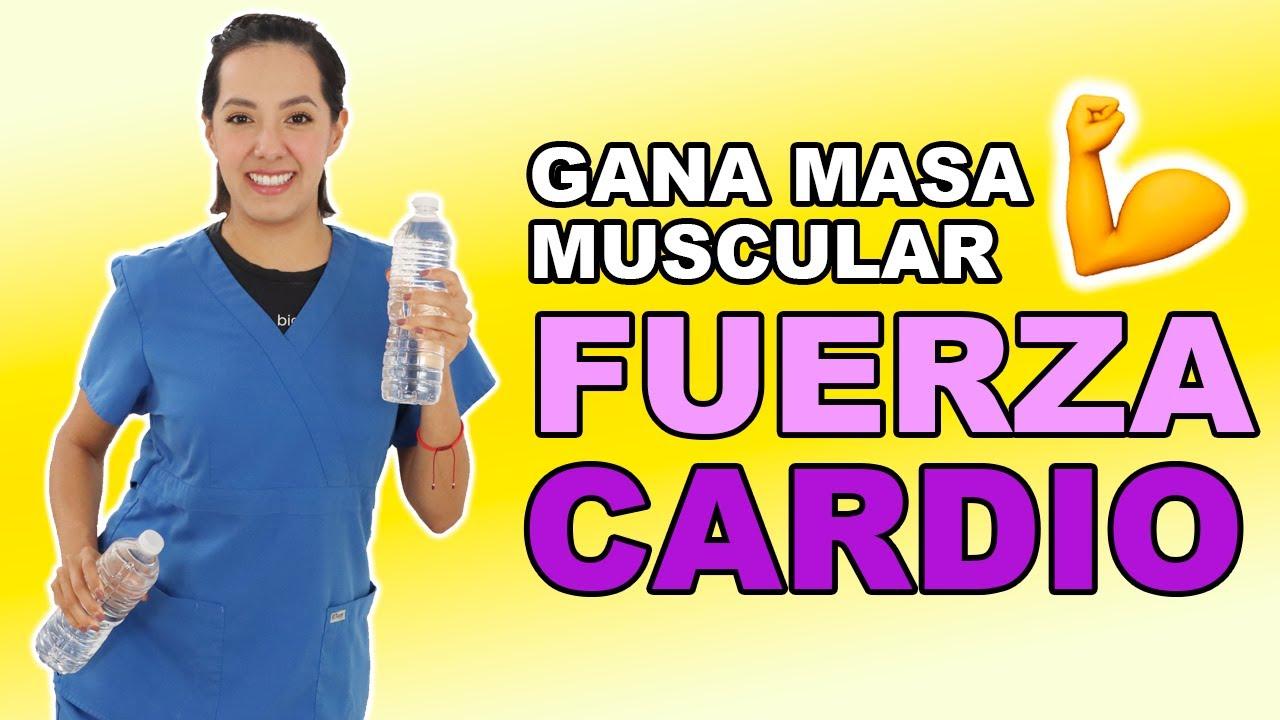 Rutina de Cardio y Fuerza para Ganar Masa Muscular en Adultos Mayores