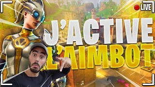 🔴 LIVE FORTNITE - MODE AIMBOT ACTIVO WITH LU CARAILHOU!