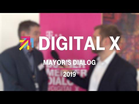 Social Media Post: Digital X Mayors' Dialog 2019