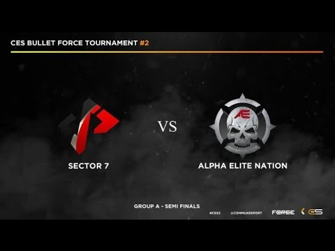 Bullet Force - CeS AE Nation Vs. Sector 7! Live!