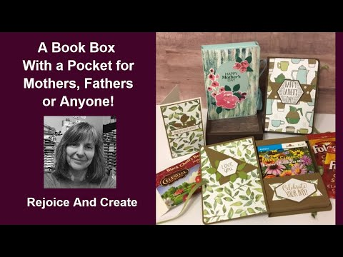 A Book Box for Seed Packets, Coffee, Tea and More!