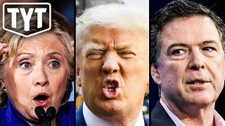 BREAKING: Trump Tries To Lock Up Clinton And Comey