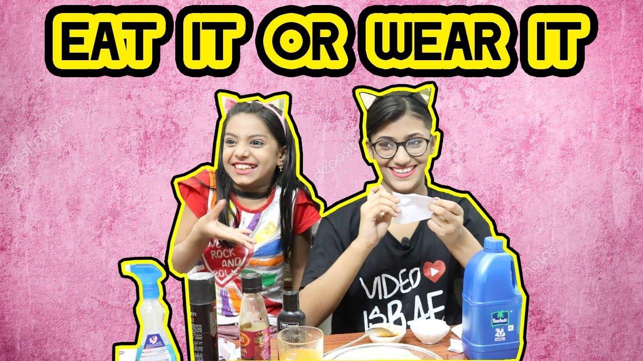 Eat It Or Wear It Challenge | SAMREEN ALI