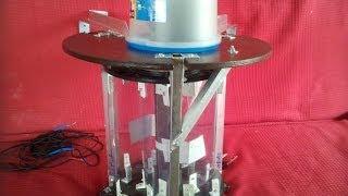 prototype: mini éolienne verticale fabrication maison