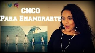 "CNCO - Para Enamorarte - ""Reaction Video"""