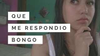 BONGO Y SUS RESPUESTAS // SACY SR